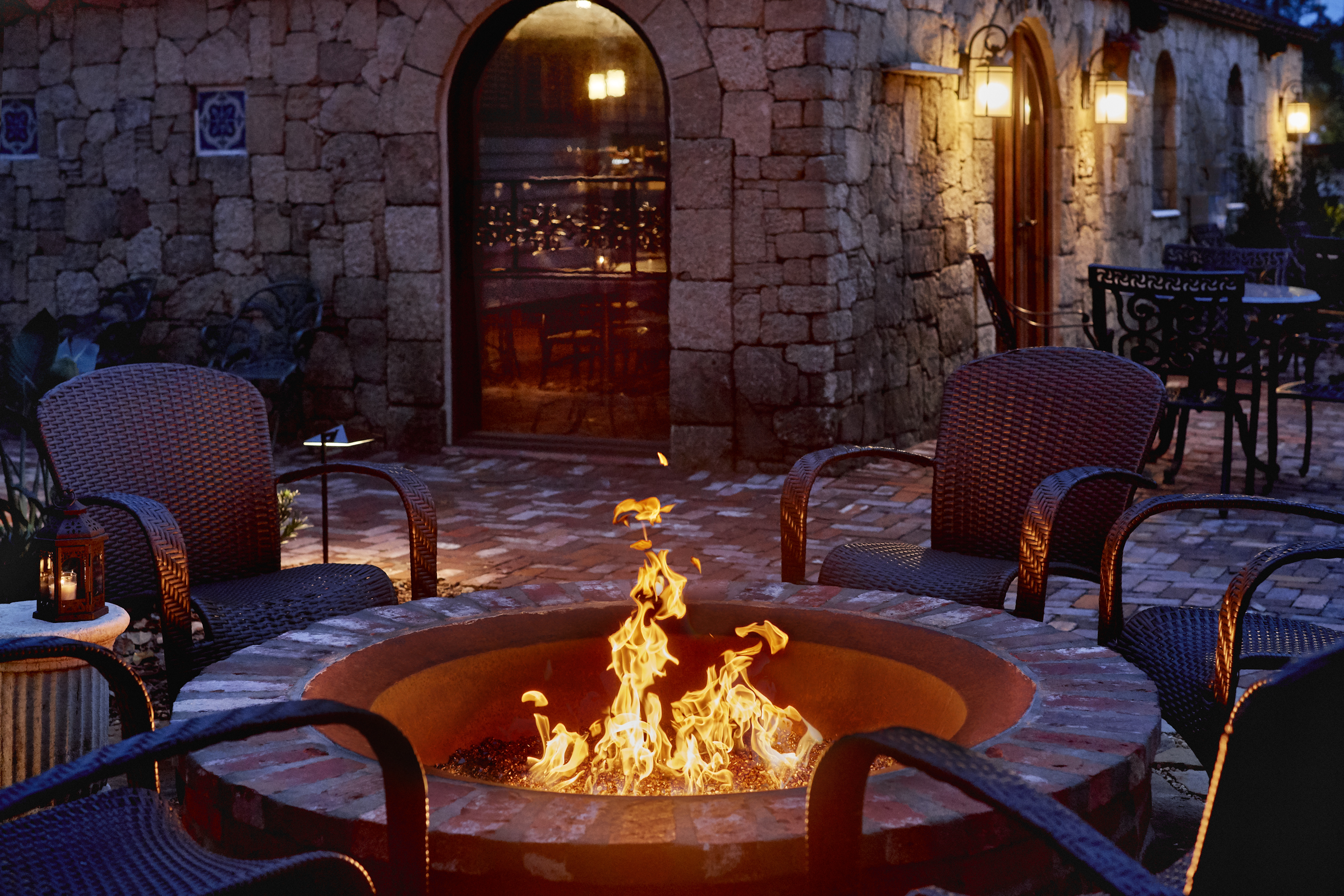 Relax by the cozy fire pit and forget about the stresses of everyday life.