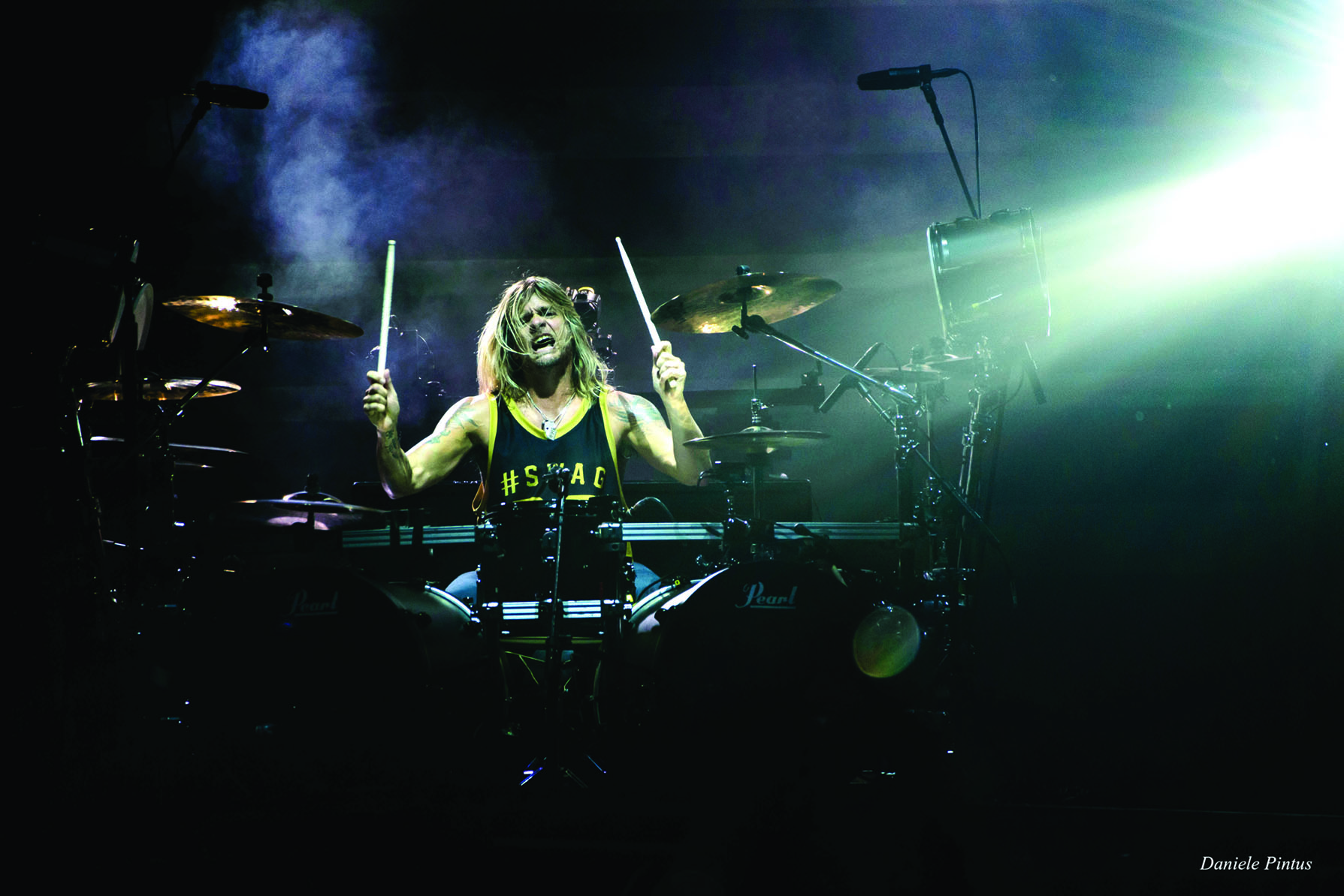 Rocking to the Beat of His Own Drum