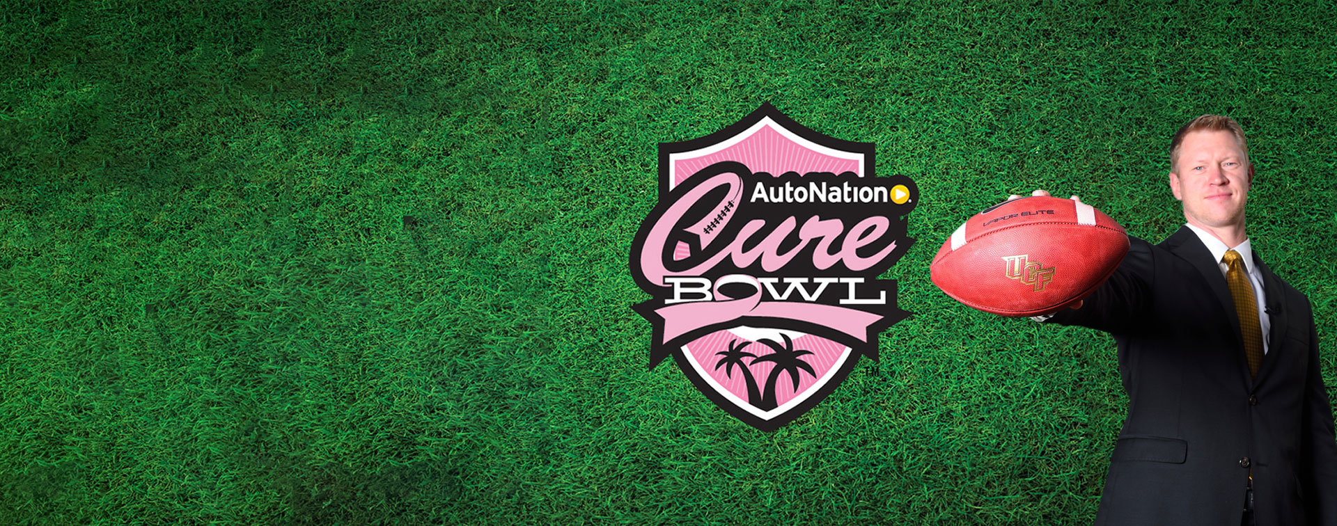 UCF Knights Heading to AutoNation Cure Bowl