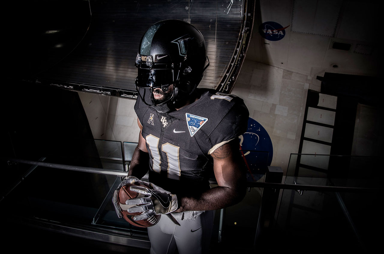 UCF Alternate Uniforms Are Spacy