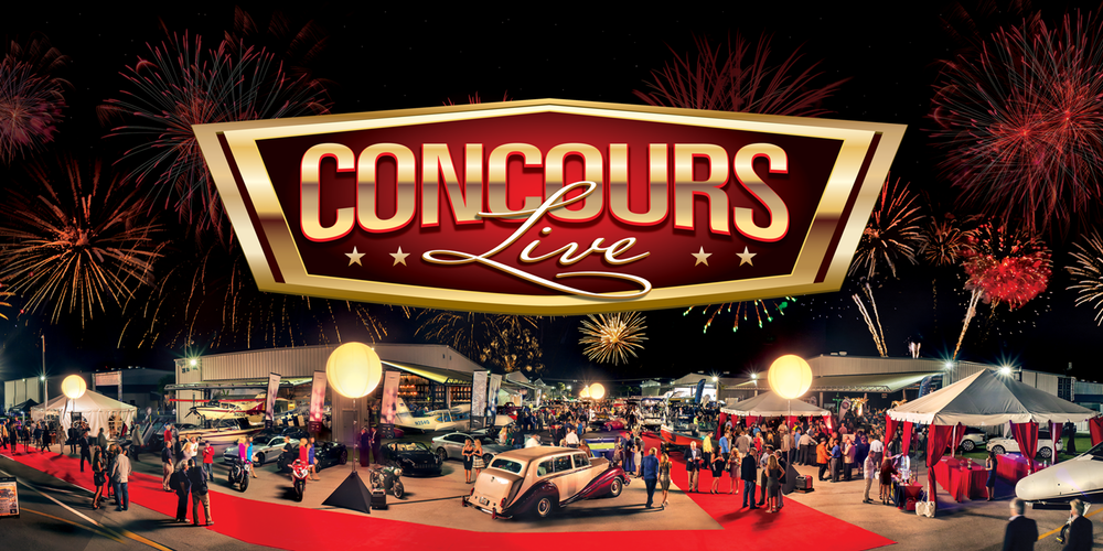 The 8th Annual Concours LIVE Event