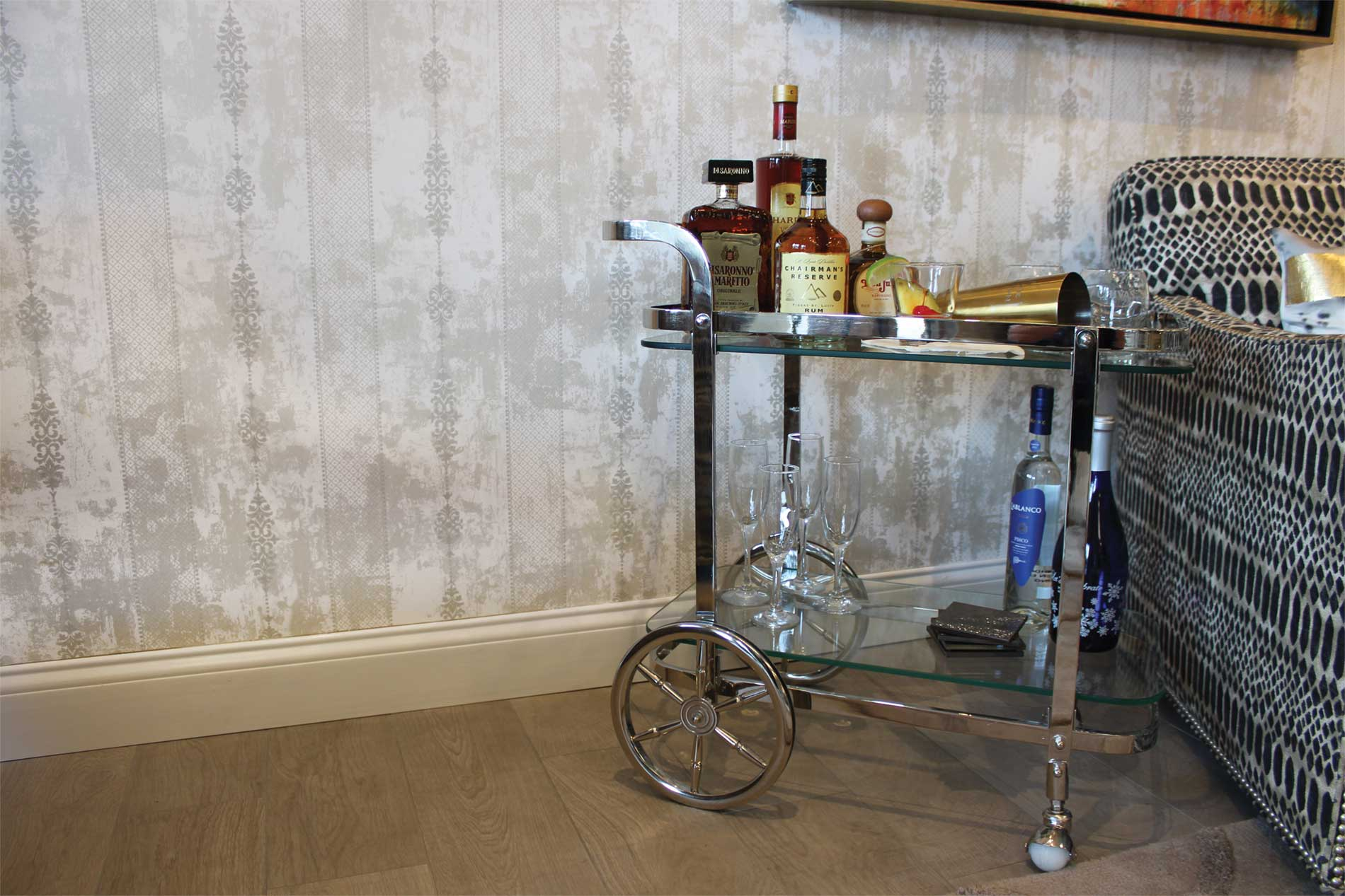 3 Ways to Style Your Bar Cart