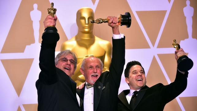 Alum Gary A. Rizzo Wins Oscar, 121 Grads Credited on Nominated Projects