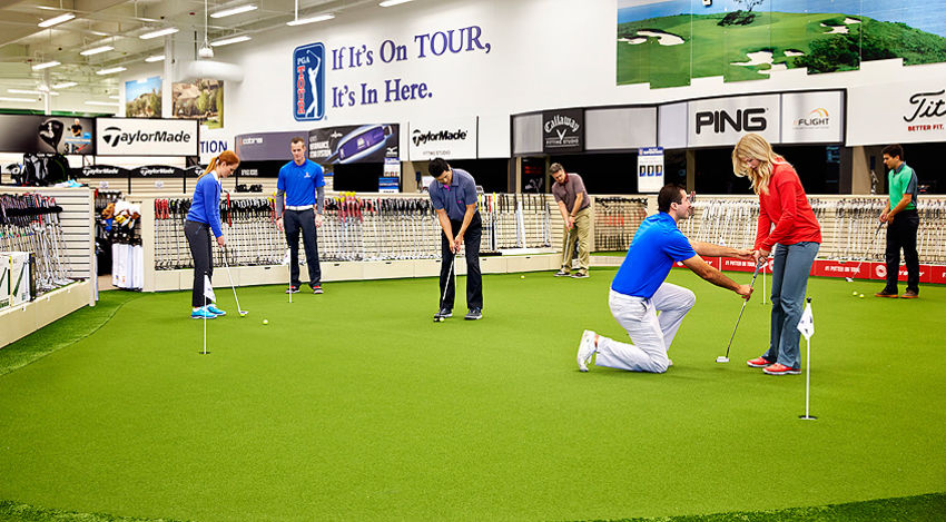 PGA TOUR Superstore Fitting Van Experience