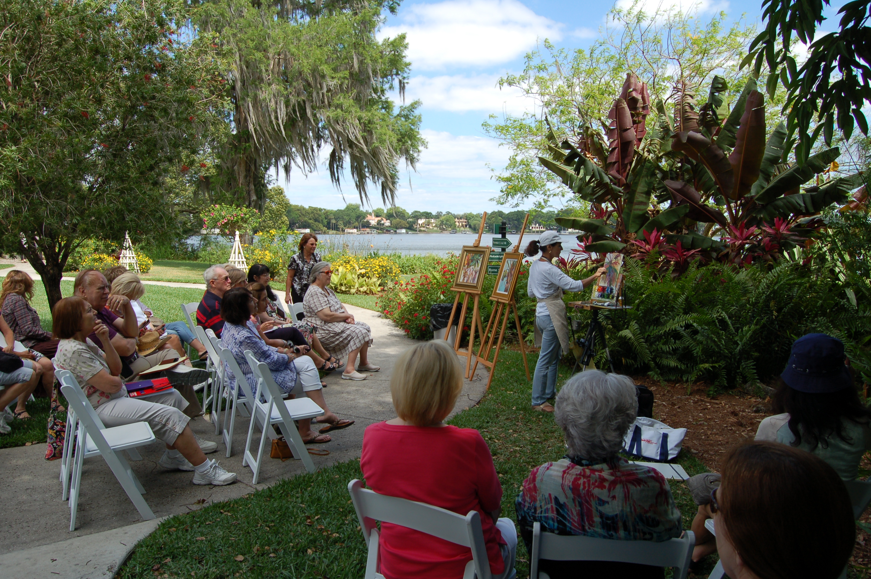 Capturing Central Florida's Beauty in Plein Air