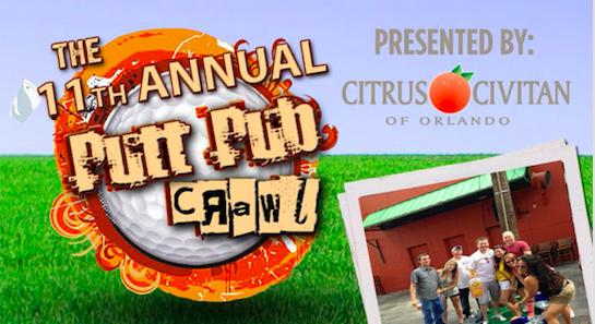 11th Annual Citrus Civitan Putt Pub Crawl