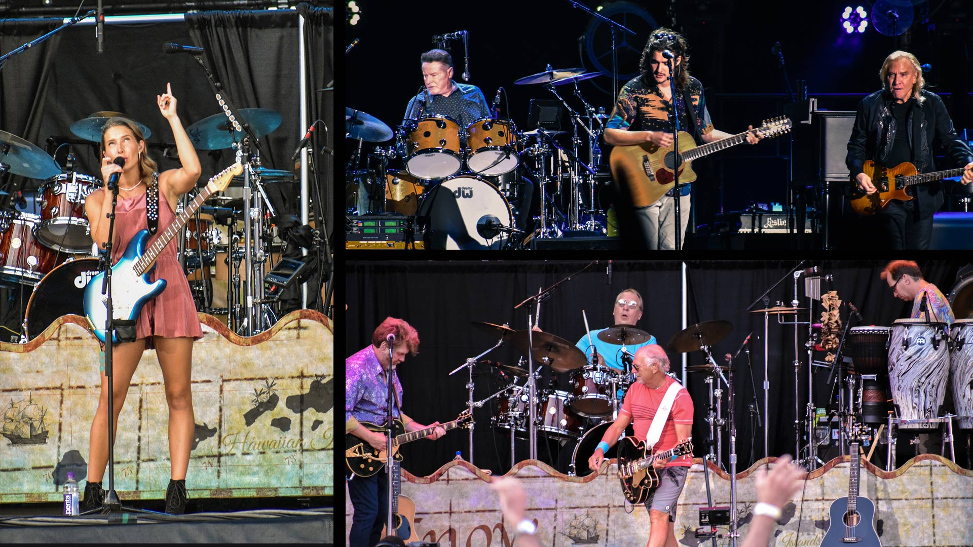 Sold Out: The Eagles, Jimmy Buffett and the Coral Reef Band and Caroline Jones