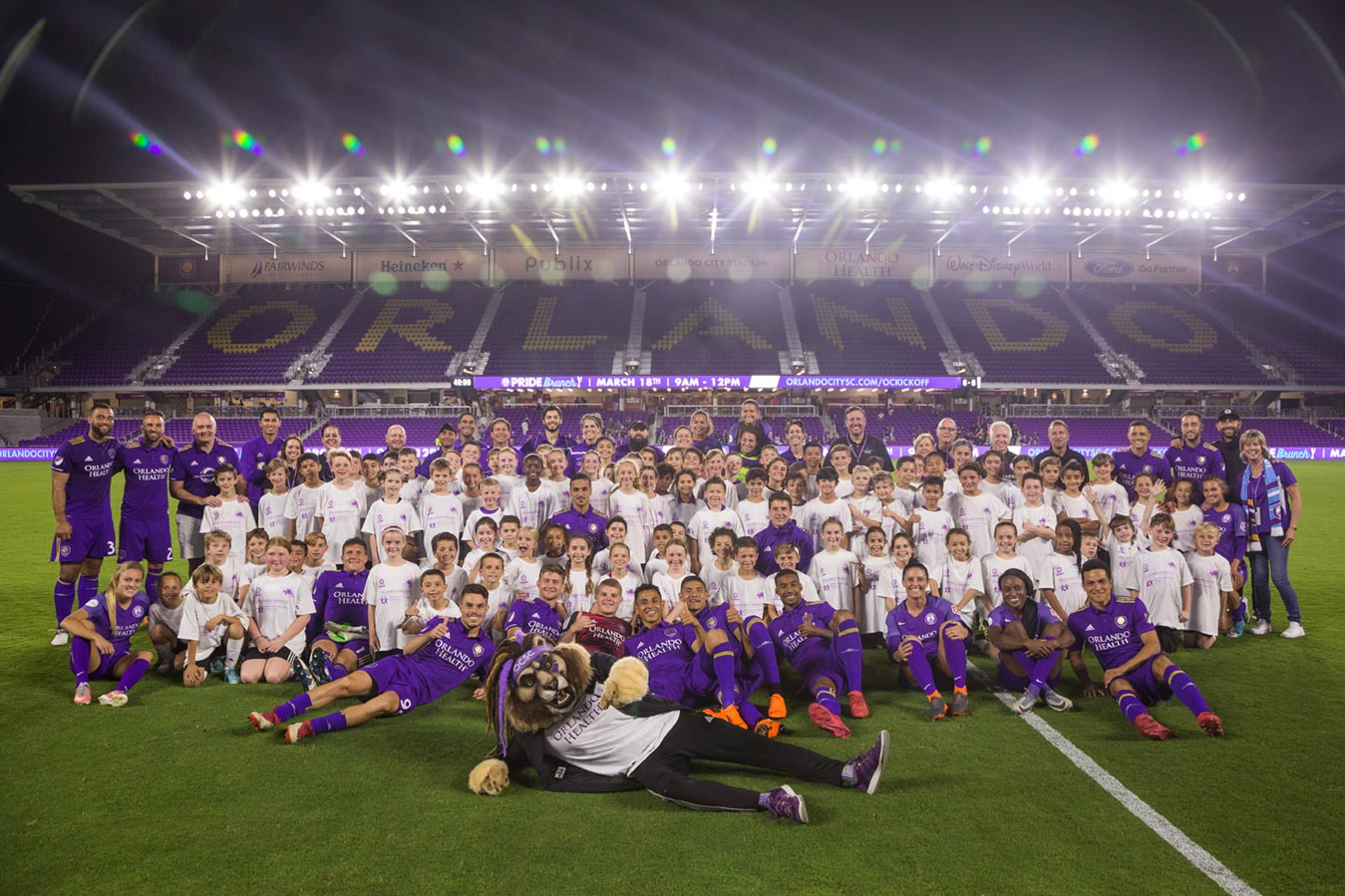 Orlando City Youth Soccer Raising Funds for Pediatric Cancer Awareness Month