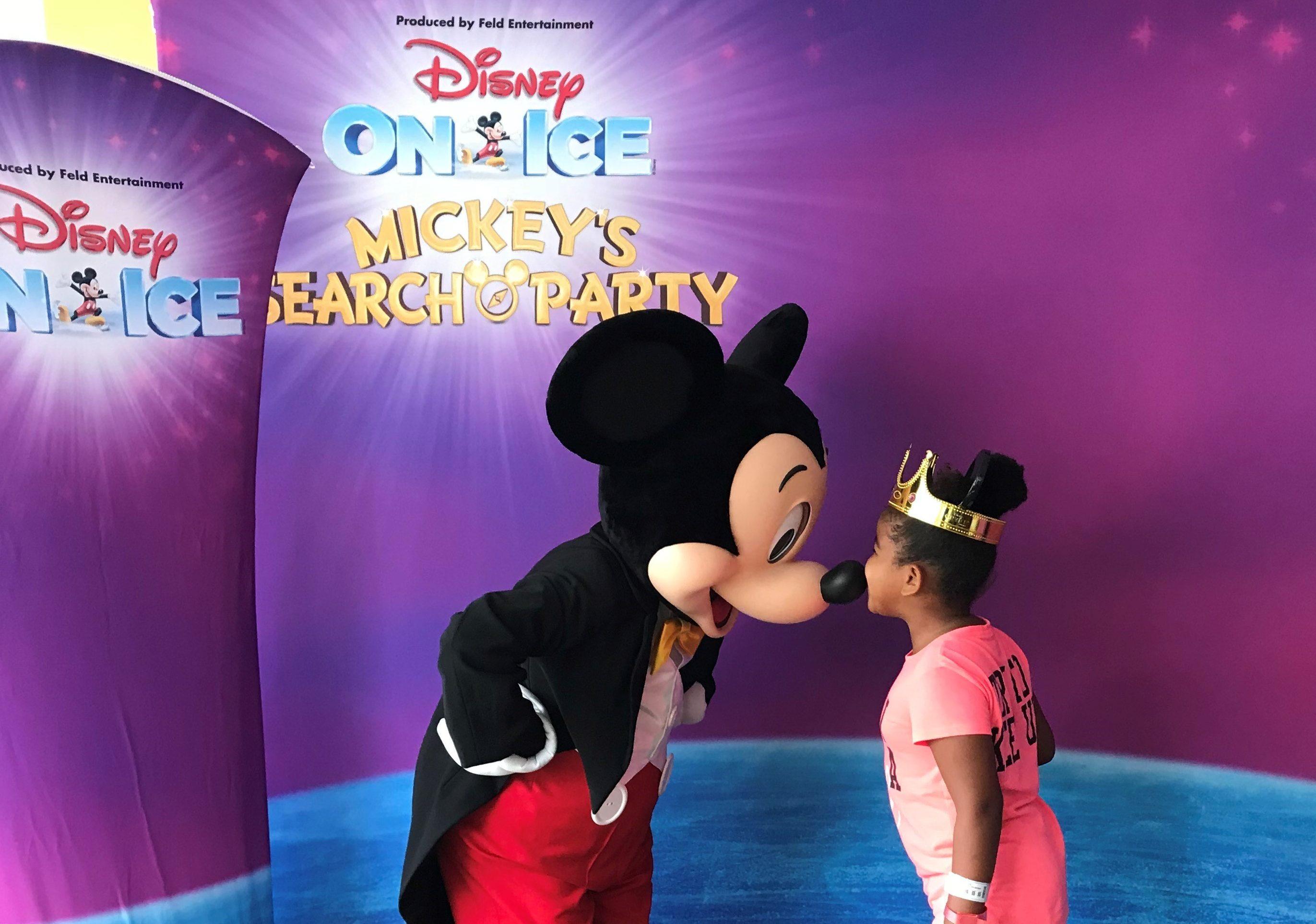 Stars from 'Disney On Ice' visit Florida Hospital for Children