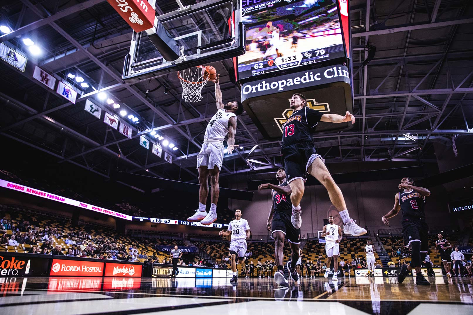 UCF Basketball Charges on to March Madness