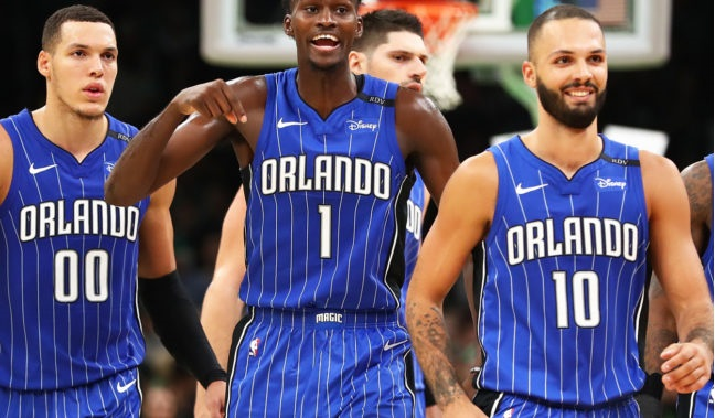 Playoffs in sight as Magic pound Hawks in record-setting home finale